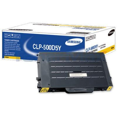 SAMSUNG CLP 500 TONER YELLOW